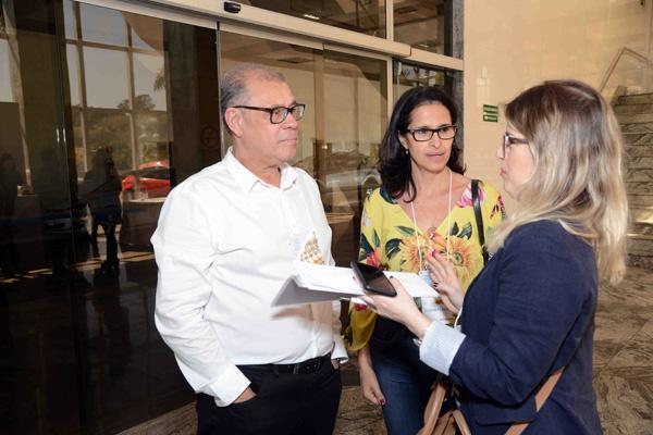 Vagnaldo - Presidente do SindSorvete com a Vice-presidente do SindSorvete - Elizabete