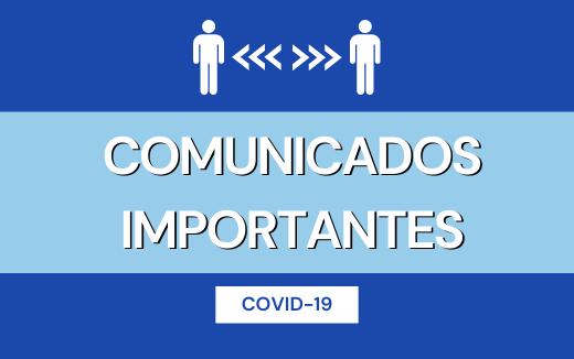 COMUNICADOS IMPORTANTES
